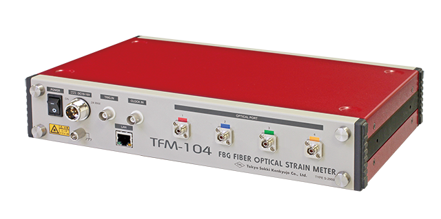 FBG Fiber-optic Strainmeter TFM-104