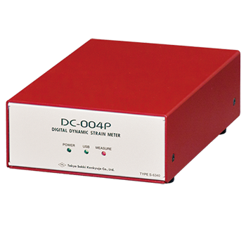 PC control Dynamic Strainmeter DC-004P